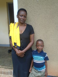 Aivan with his Mother